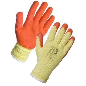 Orange Handler Gloves