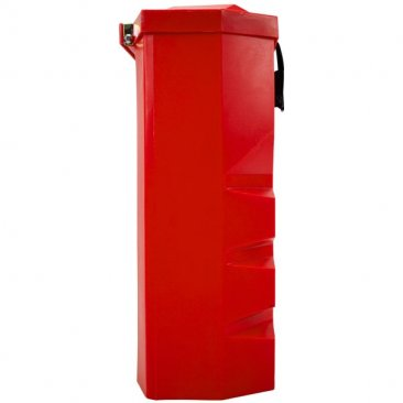 Truck fire extinguisher box