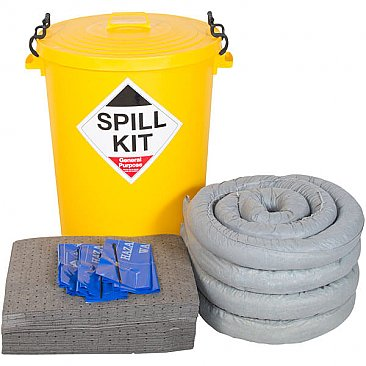 90 Litre Stationary Spill Kit - General Purpose