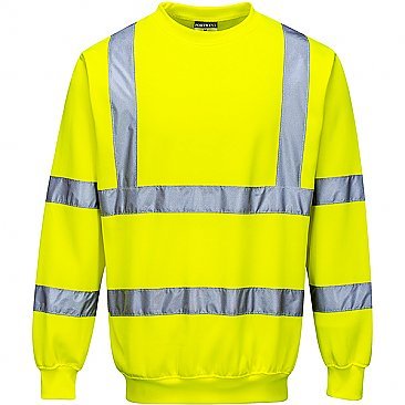 Hi--vis Yellow Sweatshirt