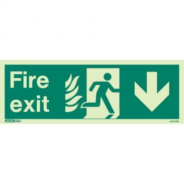 NHS Fire Exit Down 437HTM