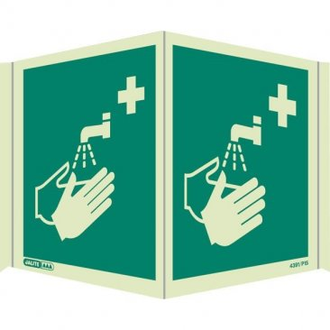 Panoramic Hand Wash First Aid 4391P