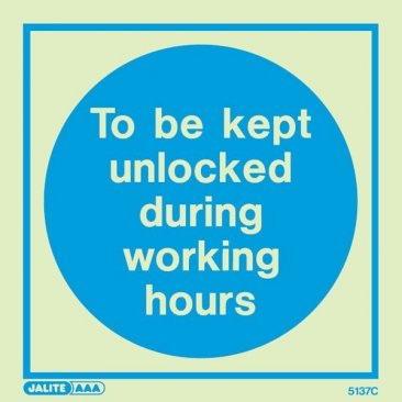 Door Unlocked In Working Hours 5137