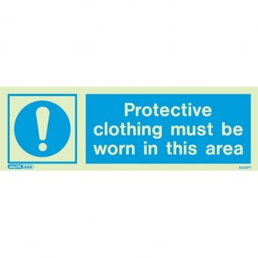Worn Protective Clothing 5235