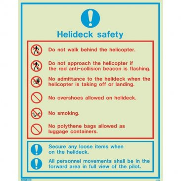 Helideck Safety 5579