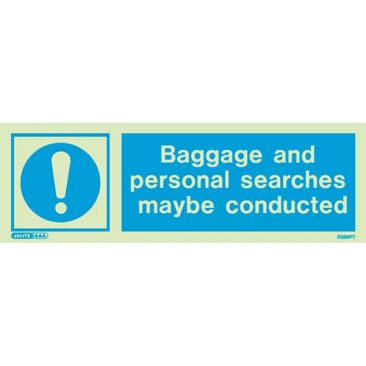 Baggage Personal Searches 5598