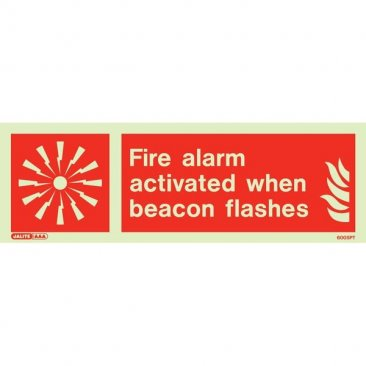 Fire Alarm Activated 6005