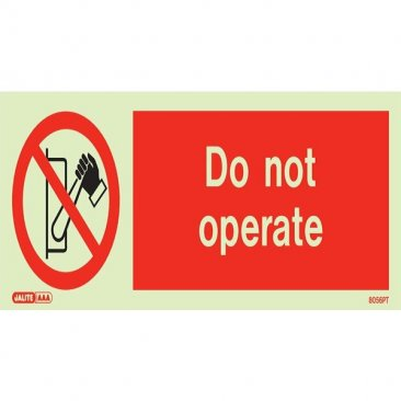 Do Not Operate 8056