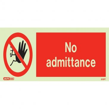 No Admittance 8115 Clearance