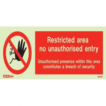 Restricted Area 8690