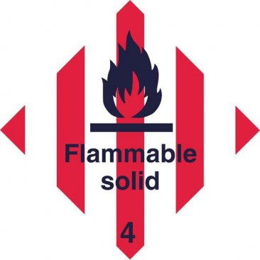 Diamond Flammable Solid HAZ19