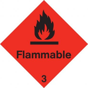 Diamond Flammable HAZ31