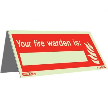Tabletop Fire Warden Pack of 5 TT3655-6