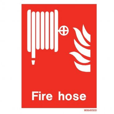 White Fire Hose WX6495