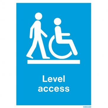 Disability Level Access WX9004
