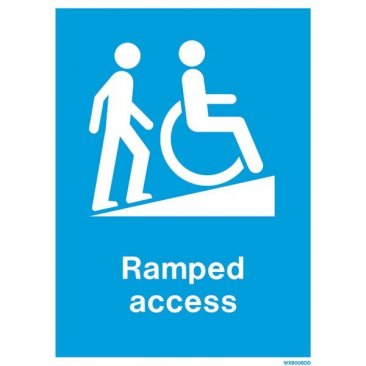 Disability Ramped Access WX9006