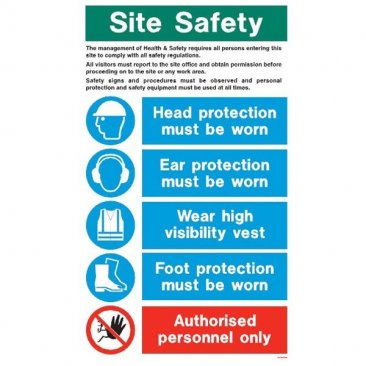 White Site Safety WX9020