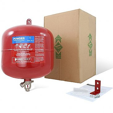 10kg automatic powder fire extinguisher packaging
