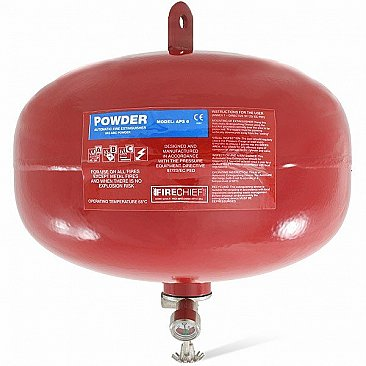 6kg automatic powder fire extinguisher