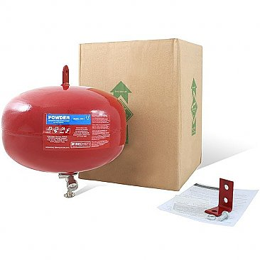 6kg automatic powder fire extinguisher packaging