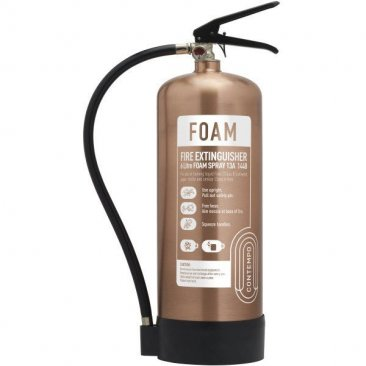 Antique Copper 6 litre Foam Extinguisher