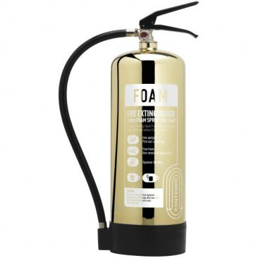 Gold 6 litre Foam Extinguisher