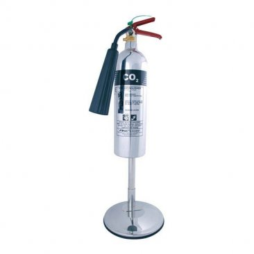 Stainless extinguisher stand CO2