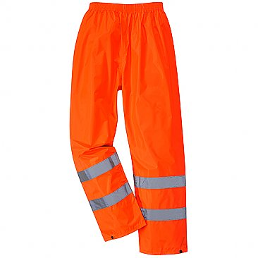Hi-Vis Overtrousers - Orange