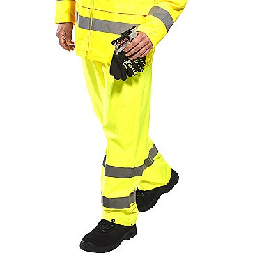 Hi Vis Overtrousers - Yellow