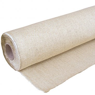 Heavy Duty Pre-Coated Fire Drape - 25m Roll
