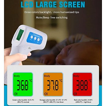 Instant Non-Contact Infrared Forehead Thermometer