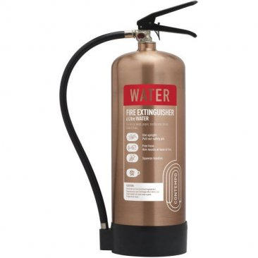 Antique Copper 6 litre Water Extinguisher