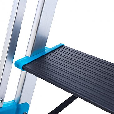 Premier Extra-Large Platform Step Ladder - Tool Tray