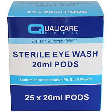 Mini Eyewash Pods 20ml
