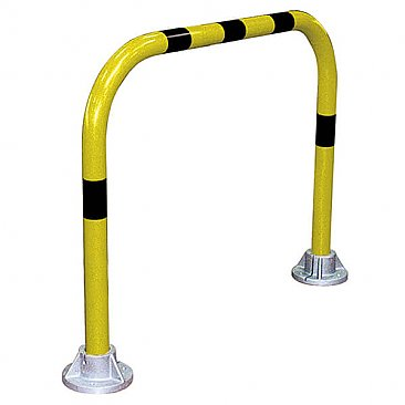 Striped Hoop Safety Barrier