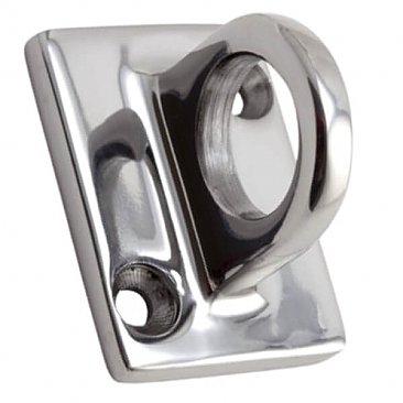 VIP rope wall bracket silver