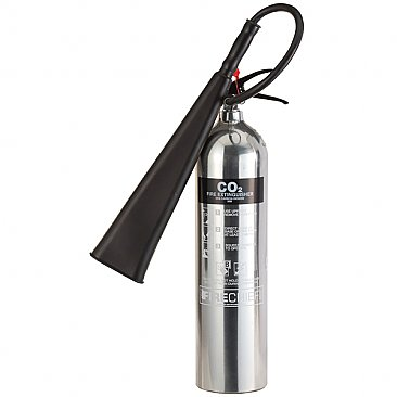 Chrome 5kg CO2 Fire Extinguisher