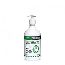 70% Alcohol Hand Sanitiser Gel 500ml with Pump Top