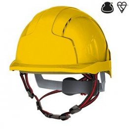 Yellow Evolite Skyworker Safety Helmet