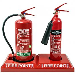 Double Extinguisher Fire Point