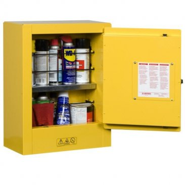Sure-Grip EX Countertop and Compac Safety Cabinet